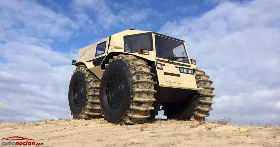 SHERP ATV: Una auténtica locura de todoterreno anfibio 'made in Rusia'