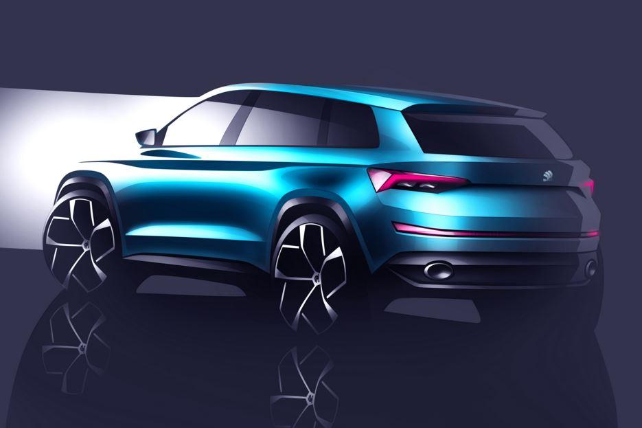 Skoda visionS SUV 2