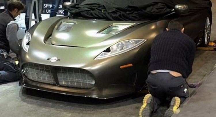 ¡Filtrado! El Spyker C8 Preliator se descubre antes de su debut ¿Conseguirá resucitar al fabricante?