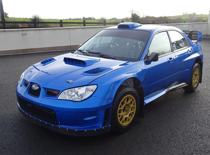 A la venta un Subaru Impreza con historia y nombres como Petter Solberg y Colin McRae