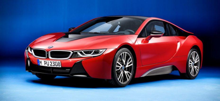 BMW i8 Protonic Red Edition, la primera de una larga lista de ediciones epeciales