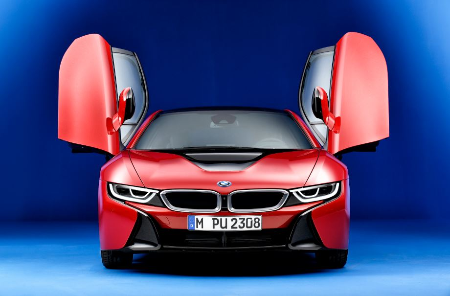 bmw i8 Protonic Red Edition 4