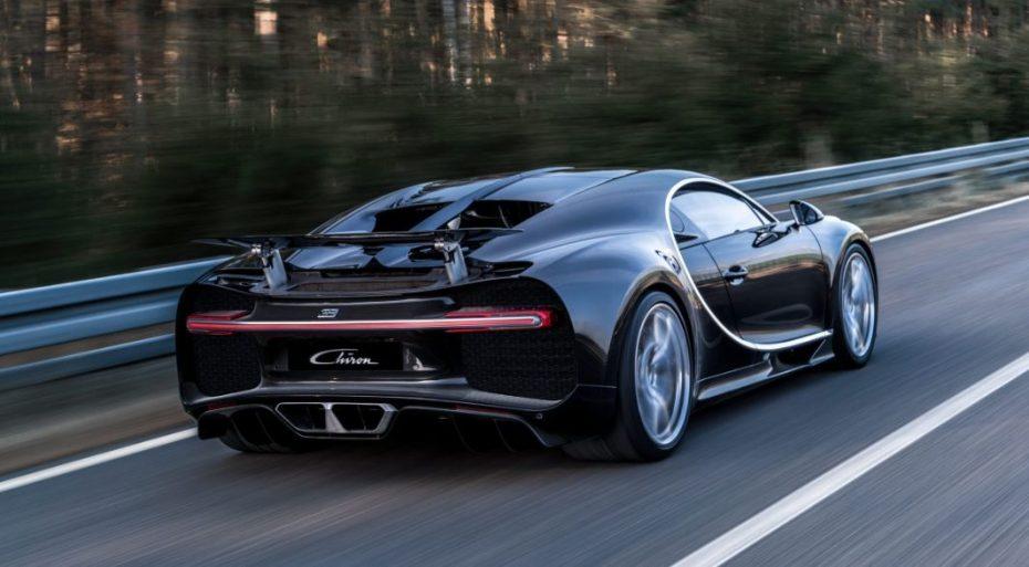 ¡Oficial! Así es el Bugatti Chiron, el sucesor del Bugatti Veyron vuelve a ser lo mejor de lo mejor…