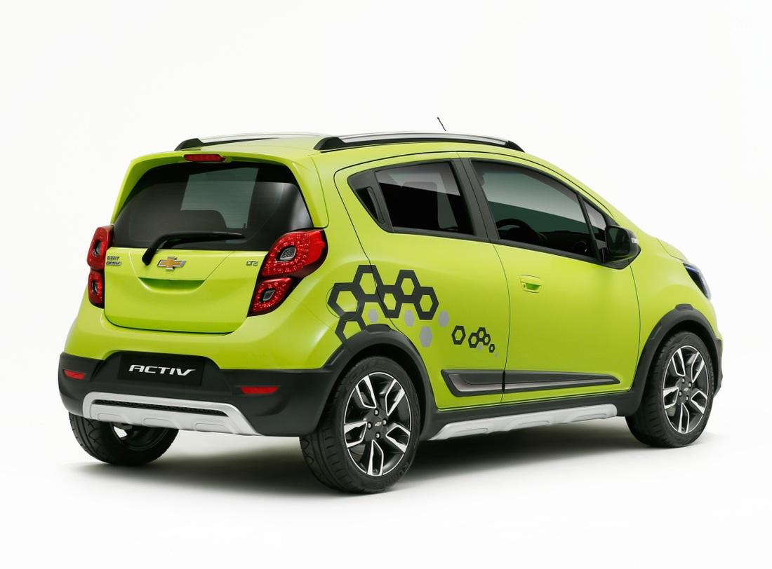 Así es el nuevo Chevrolet Beat Activ Concept: Una acertada ...