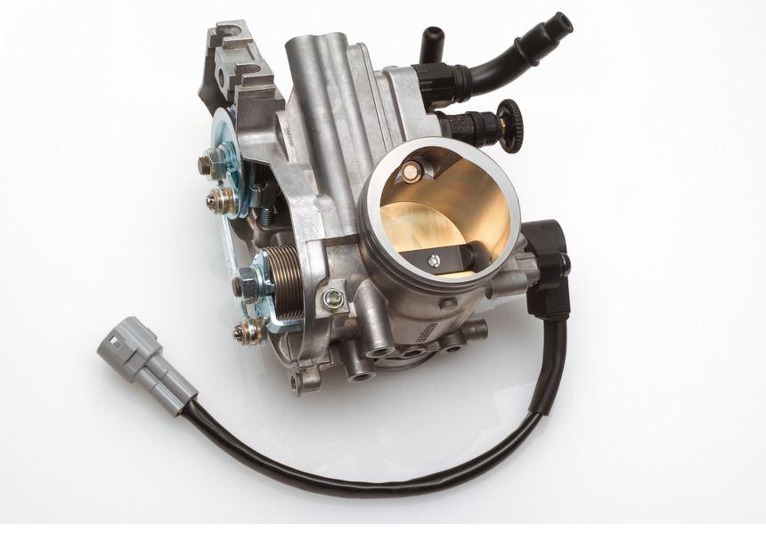 Cuerpo acelerador de un motor