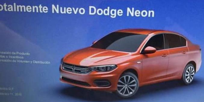 El Fiat Tipo se denominará Dodge Neon al otro lado del charco