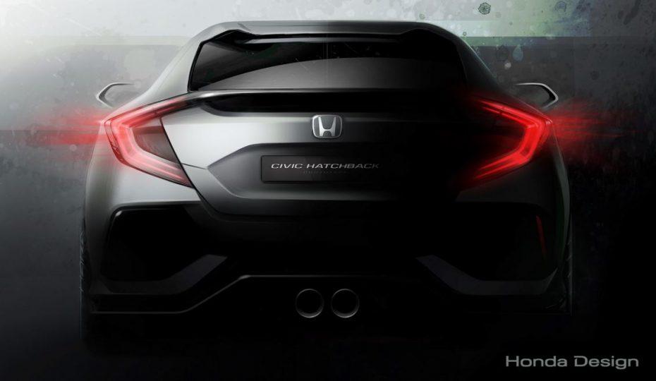 Ojo, un vistazo al Honda Civic que llegará en 2017: ¿¡Igual que el de USA!?