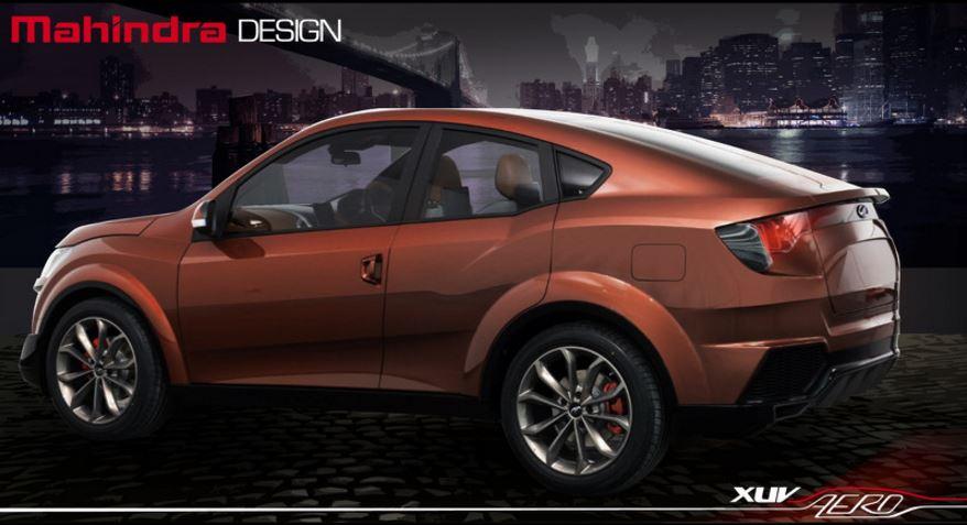 Mahindra XUV Aero concept: Ahora todos copian al BMW X6…