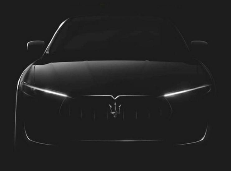 ¿Estamos ante la primera imagen del SUV de Maserati?