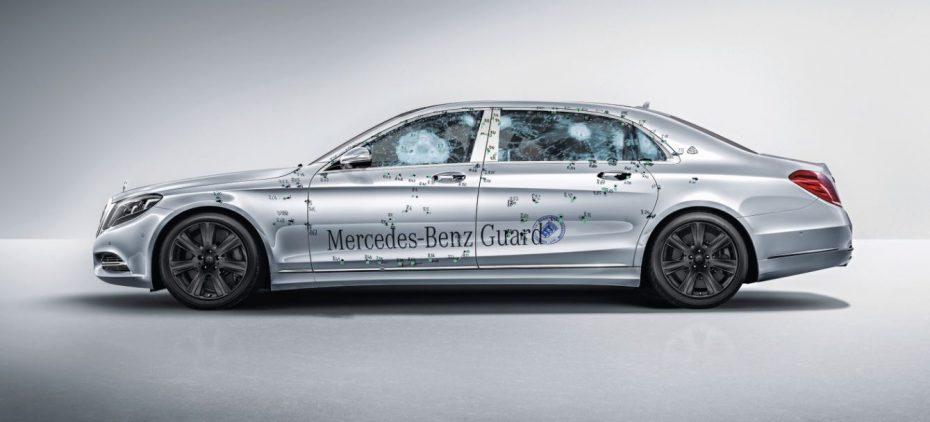 Mercedes-Maybach S 600 Guard: Estar seguro en las zonas «chungas» cuesta 568.700 euros