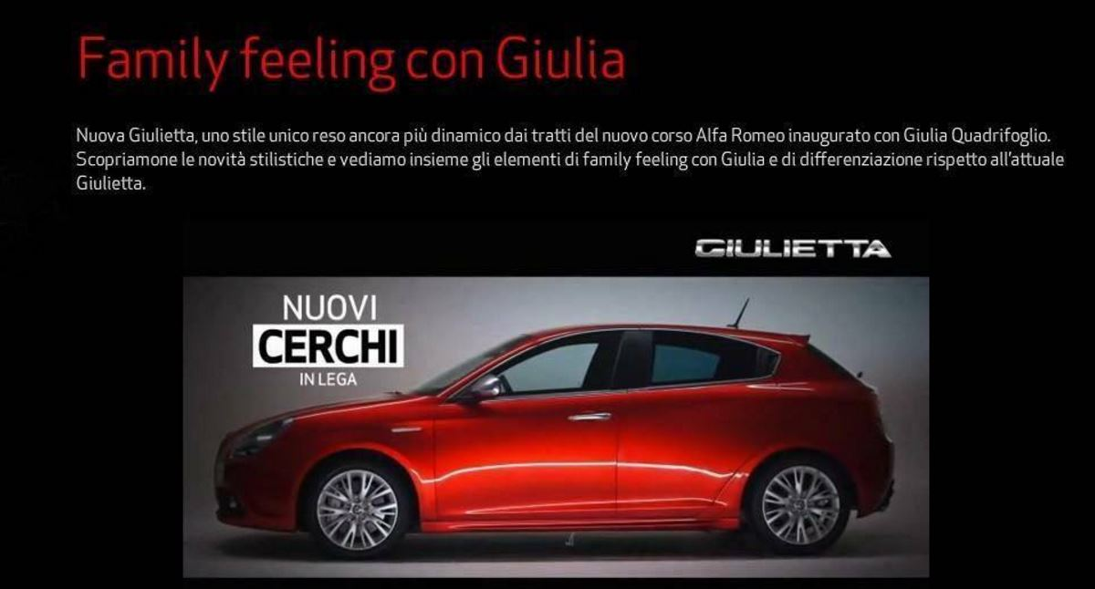 nuevo Giulietta 2016 facelift 7