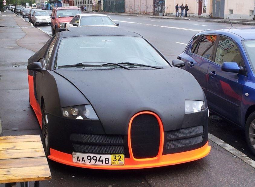 réplica bugatti veyron 1