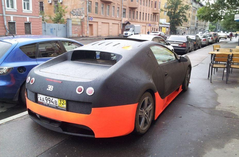 Probablemente estemos hablando de la réplica de Veyron más penosa del planeta