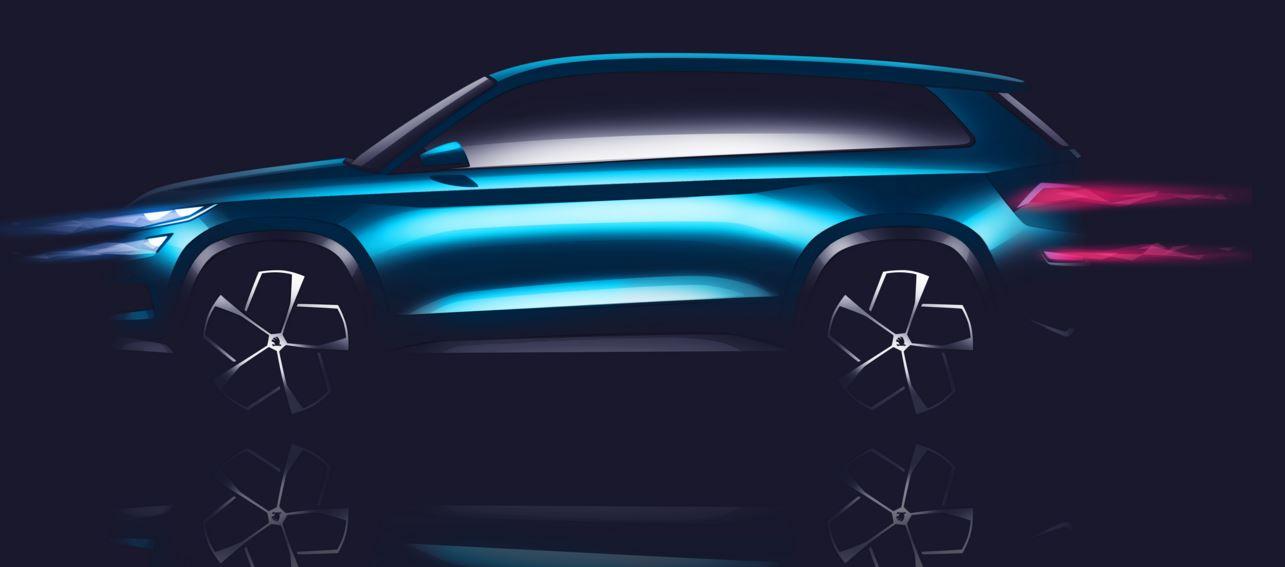 skoda visionS SUV 2016 1