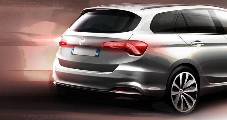 Así se resolverá la trasera de la variante familiar del Fiat Tipo