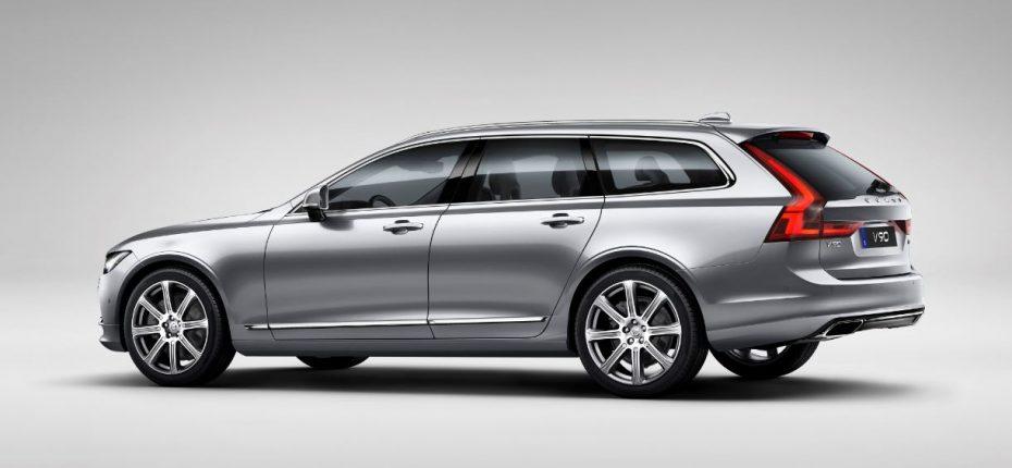Oficial: Todos los detalles del Volvo V90, el familiar sueco da la cara