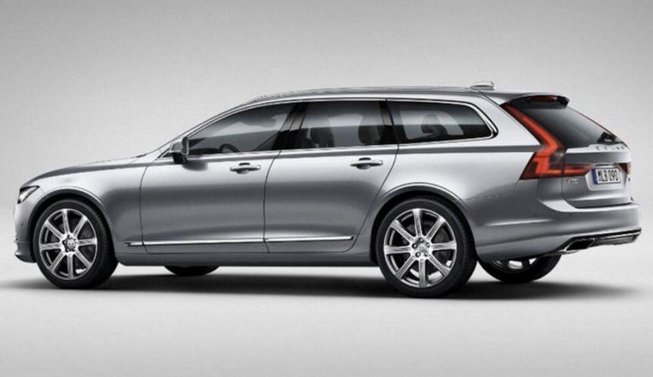 ¡Filtrado!: Así es el nuevo Volvo V90, el espectacular familiar sueco