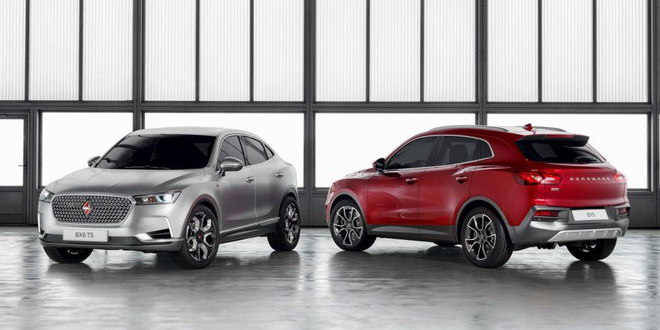 Borgward lleva a Ginebra los BX6 y BX5: Dos nuevos SUVs para la firma alemana