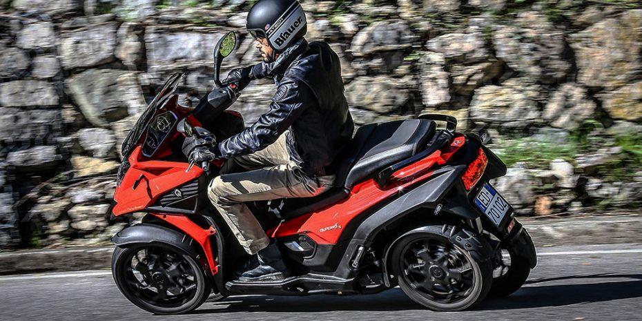El Quadro4 llegará a España en abril: Un curioso vehículo de cuatro ruedas