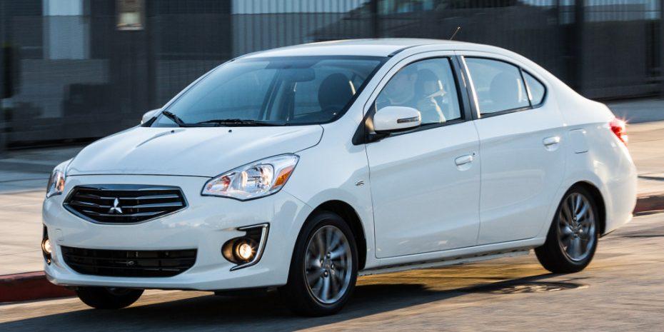 El Mitsubishi Attrage se pone al día: Una mini berlina económica