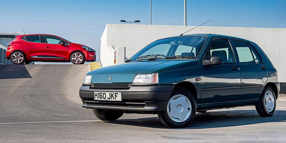 Los 25 años del Renault Clio, ahora en imágenes