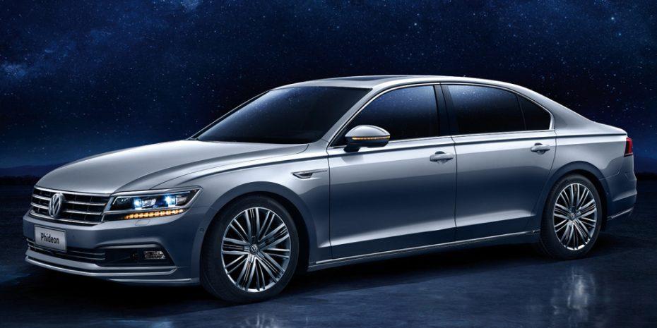 Nuevo Volkswagen Phideon: Una berlina de lujo específica para China