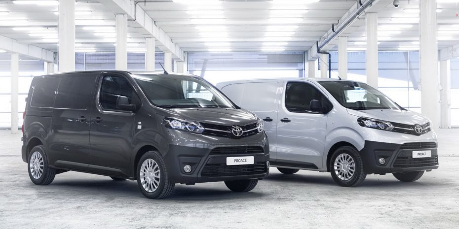 Nuevo Toyota ProAce Van, destinado a profesionales
