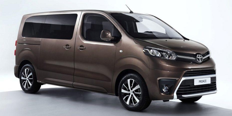 El nuevo Toyota ProAce Verso nos muestra sus encantos: Hasta 9 plazas