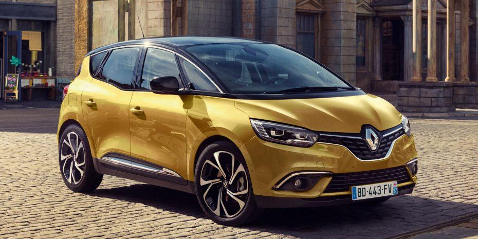 ¡Et voilá! Aquí está el nuevo Renault Scénic en su versión con cinco asientos