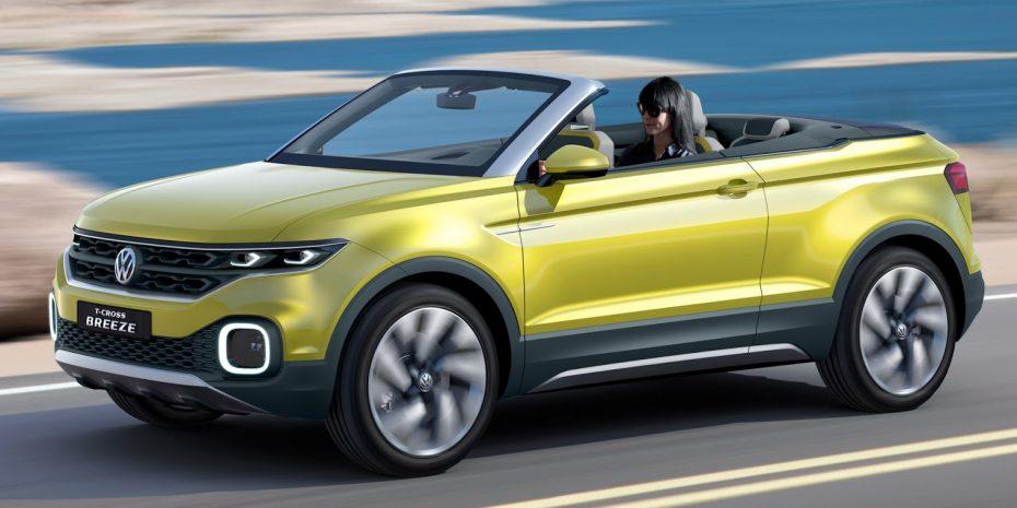 El Volkswagen T-Cross Breeze Concept adelanta el próximo B-SUV de la marca