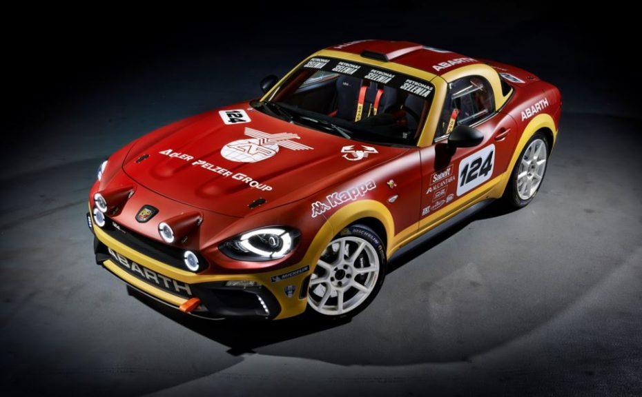 Abarth 124 rally: Alma de MX-5, corazón de escorpión y muchas ganas por regresar al Rally