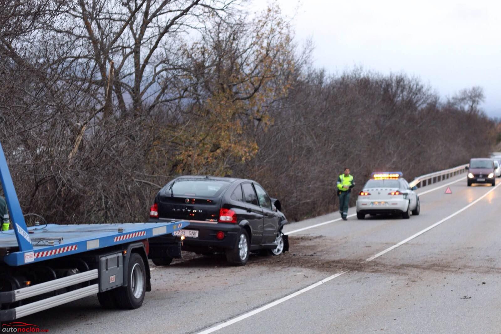 Saber cómo actuar en caso de accidente de tráfico ayuda a salvar vidas