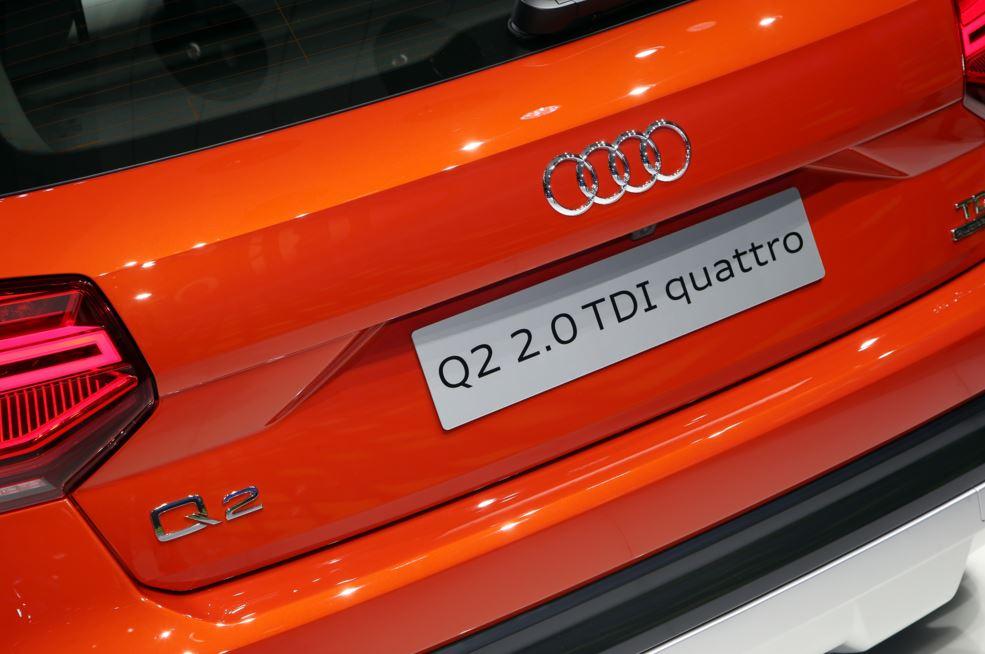 Audi Q2 naranja 2