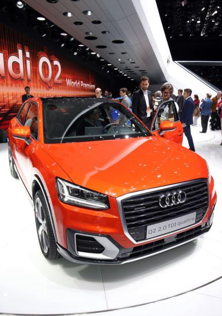 Audi Q2 naranja 4