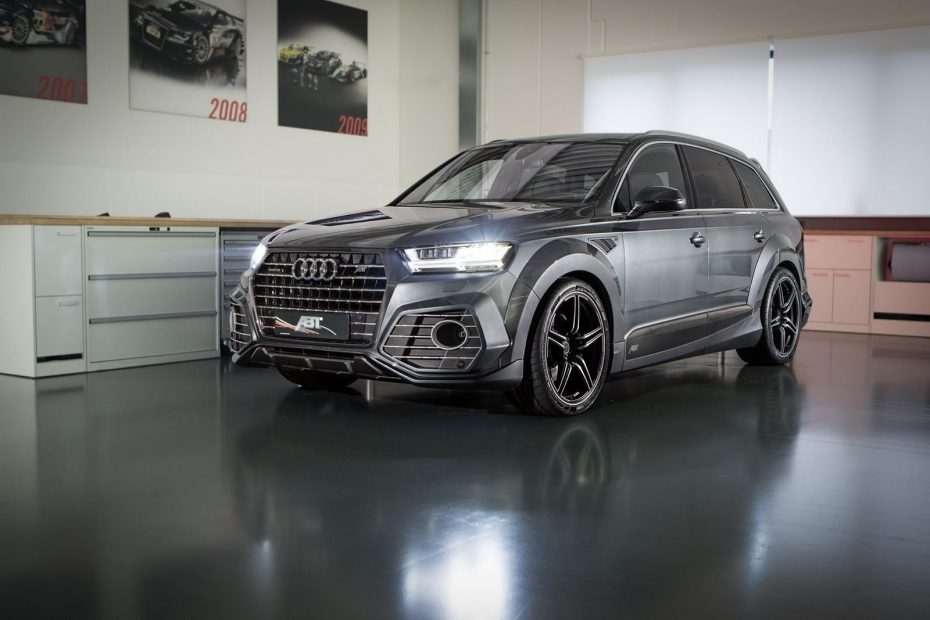Ojo al Audi QS7 de ABT: ¡Póngame una mecánica diésel potenciada con extra de fibra de carbono!