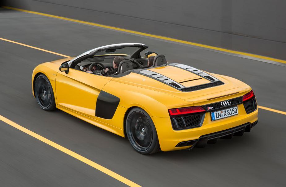 El Audi R8 Spyder V10 será 13.000 euros más caro que el Coupé: Ya hay precio en Alemania