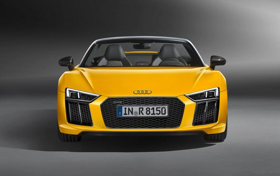 Audi R8 Spyder 4