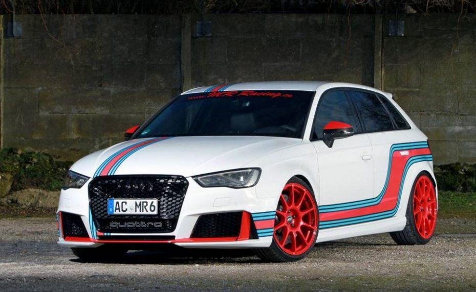 MR Racing retoca el 2.5 TFSI del Audi RS3 elevando su potencia hasta los 535 CV
