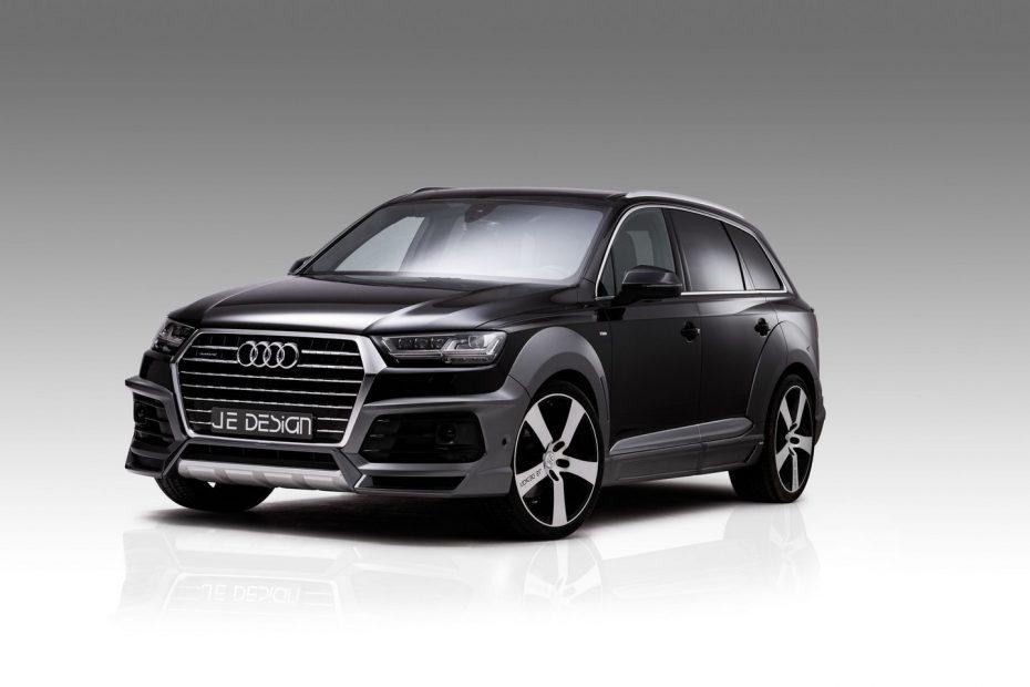 JE Design quiere un Audi SQ7 aún más poderoso e imponente: 522 CV para el V8 de Ingolstadt
