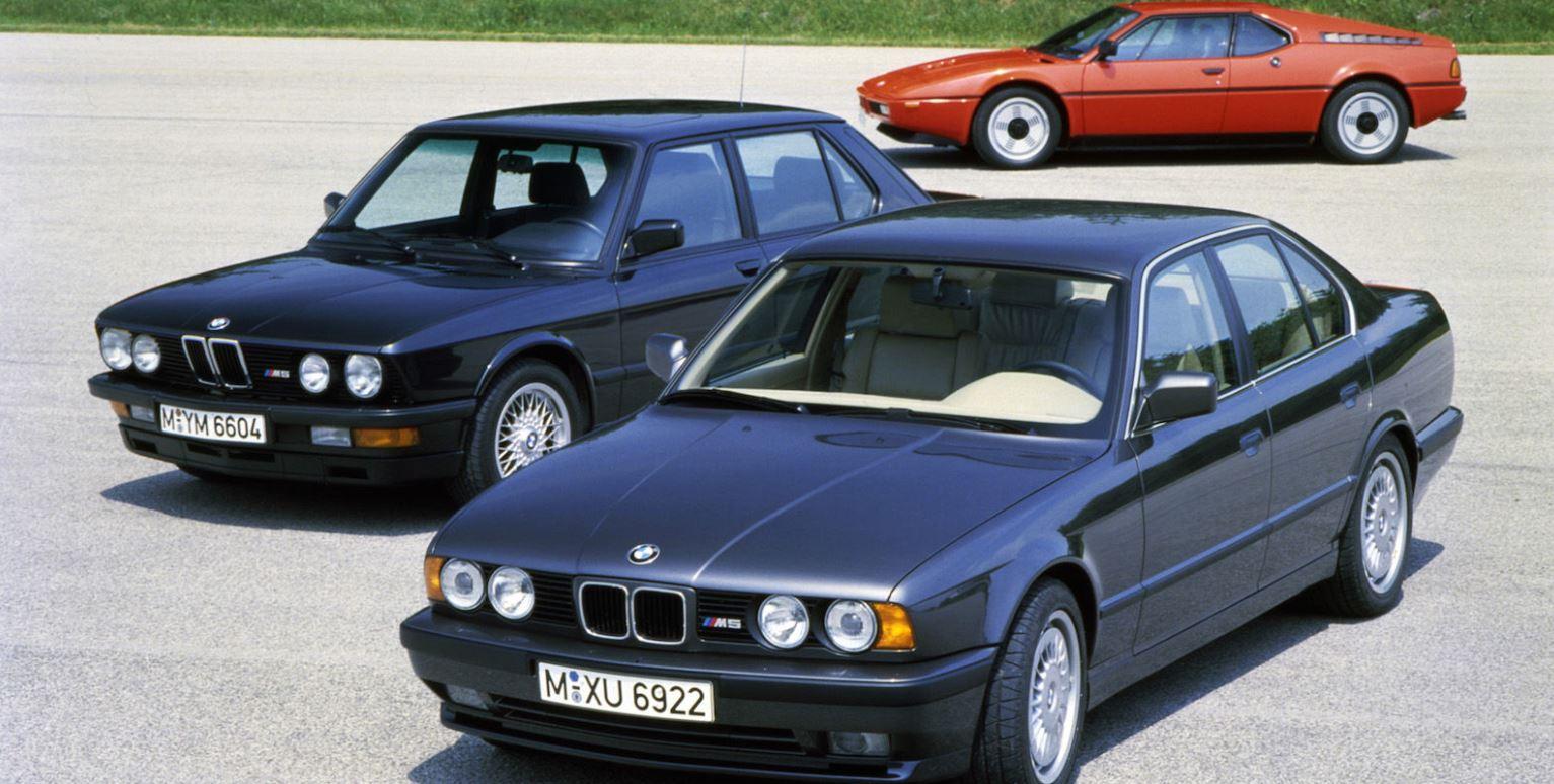 BMW M1-M5