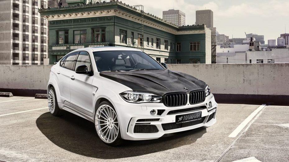 Ojo al salvaje BMW X6 M50d triturbo con 462 CV de Hamann: No te dejará indiferente