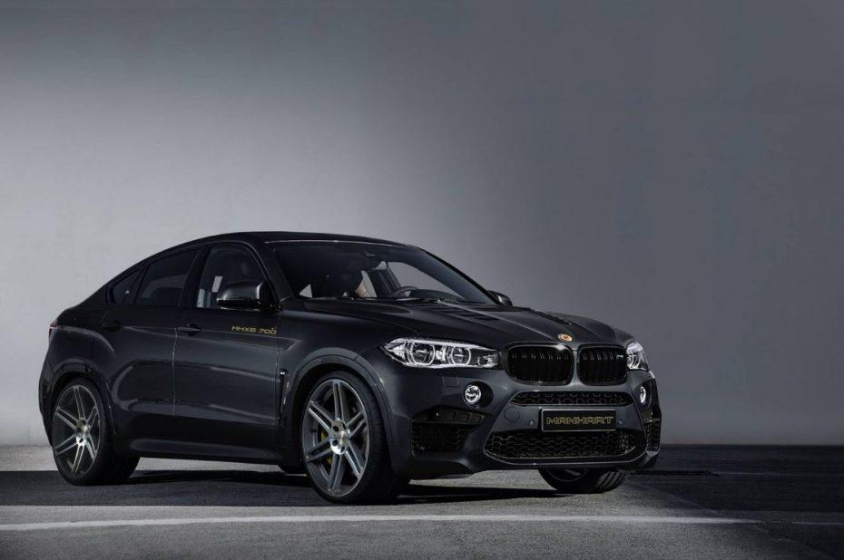 ¡Discreto pero matón!: Así luce el último BMW X6 M de Manhart con 700 CV bajo el capó