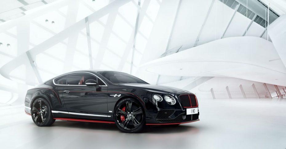 ¡Todo al negro! Bentley Continental GT 'Black Speed', la creación británica más radical