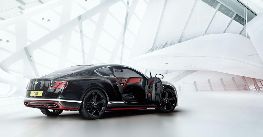 Bentley Continental GT Black Speed (2)