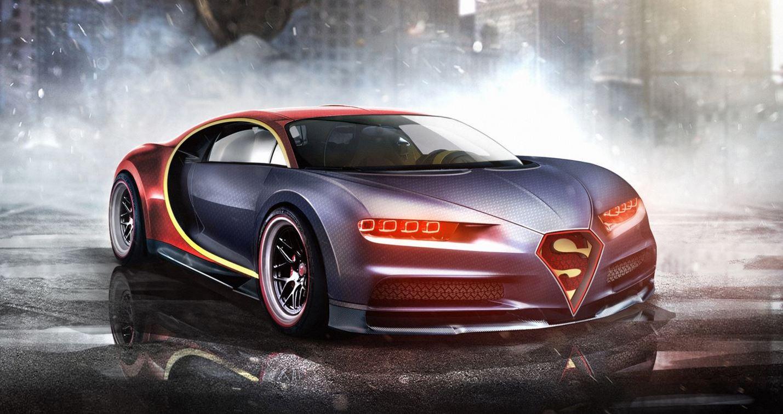 Bugatti Chiron Superman