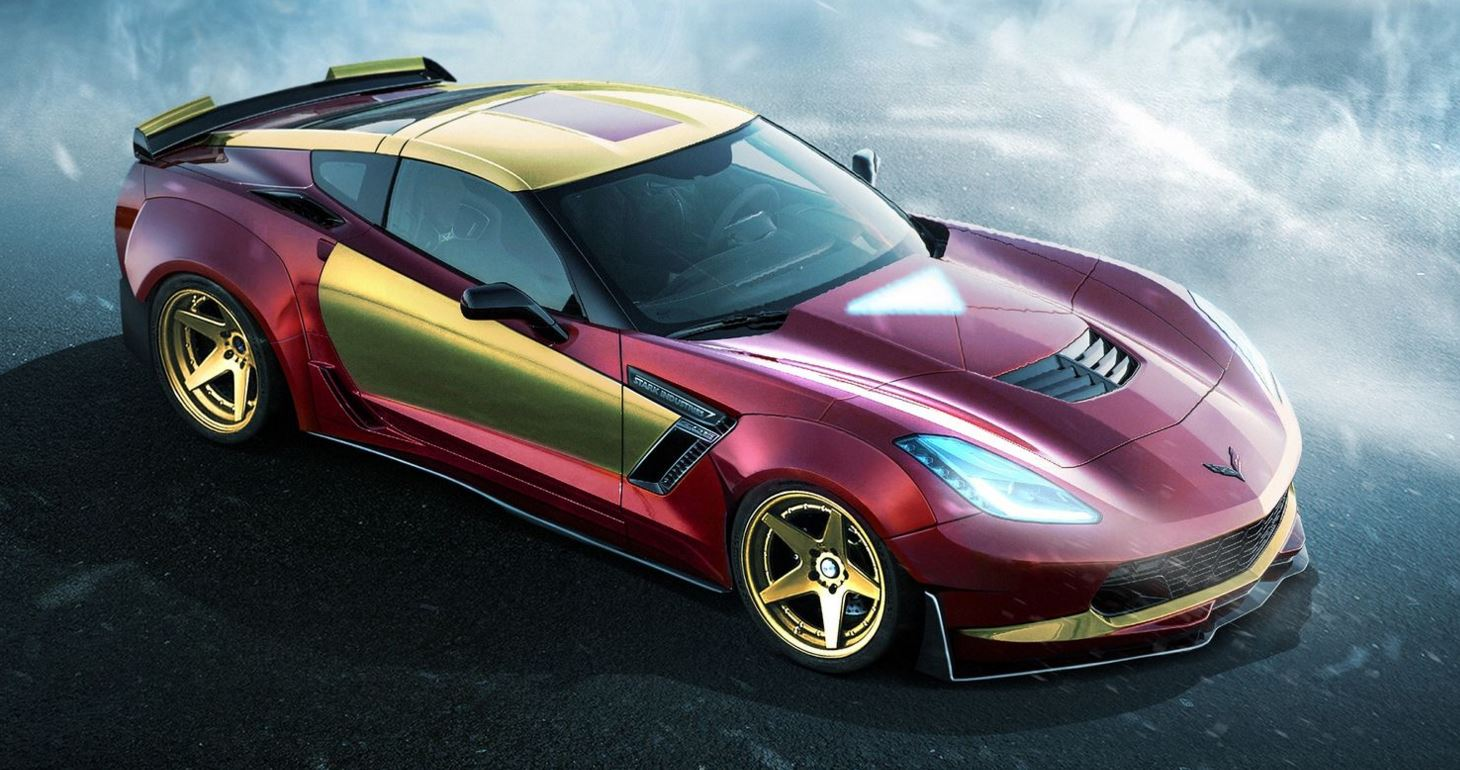 Chevrolet Corvette Z06 Iron Man