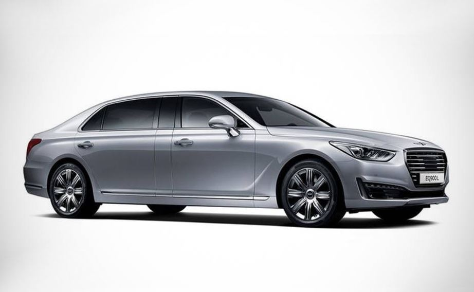 El Genesis EQ900L plantará cara al Mercedes-Maybach y ojo, será más largo