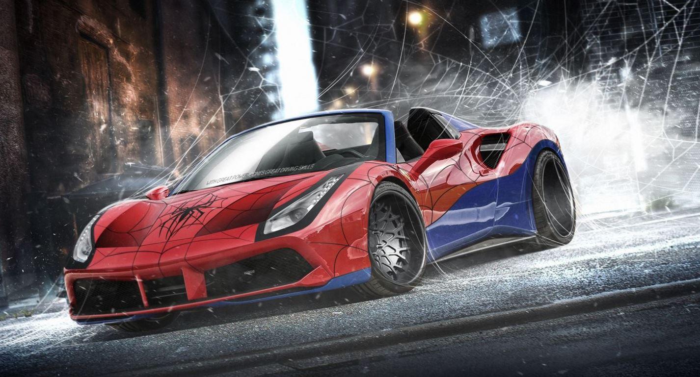 Ferrari 488 GTB Spider Man
