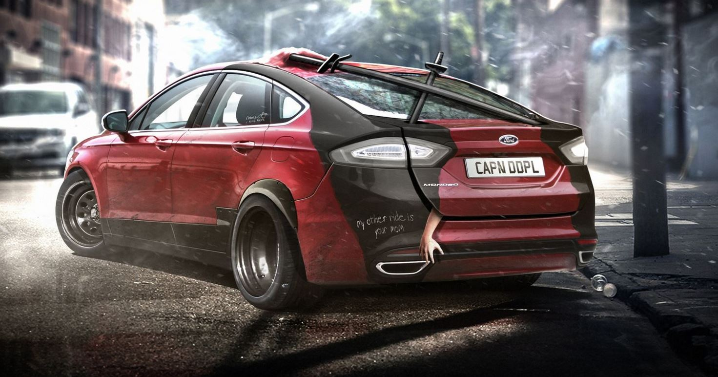 Ford Mondeo Deadpool