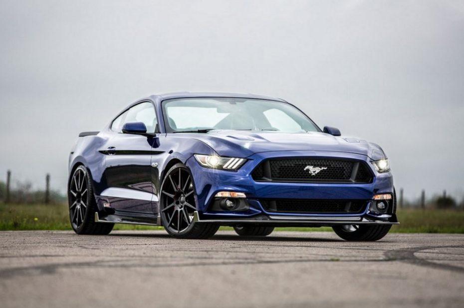 Hennessey HPE750 Ford Mustang: Sus casi 800 CV y su fibra de carbono harán que lo desees